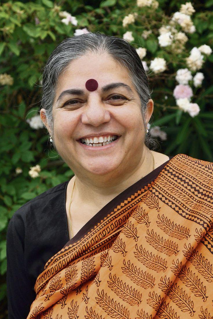 Resultado de imagen para Vandana Shiva